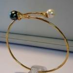 Armband, bracelet, tahiti parel, pearl, pearls, thahitian,