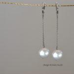 oorbellen wit goud met witte zoetwaterparels