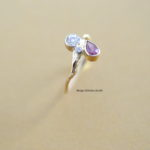 illuminate pink saphire and brilliant