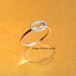 Illuminate collectie ring geel goud met briljant